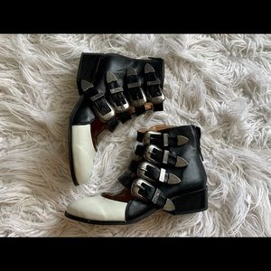Zigi Soho western ankle boots